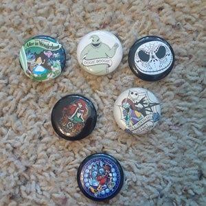 Disney button bundle